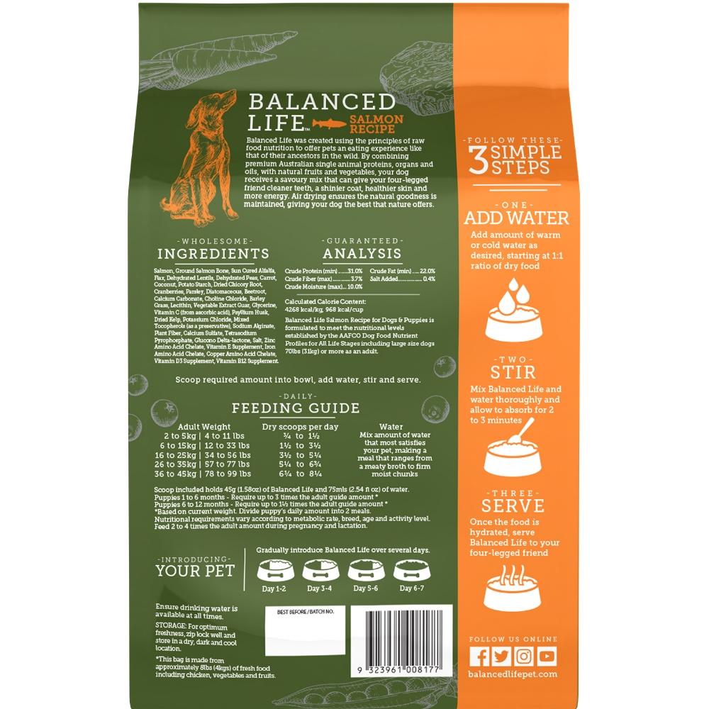 Balanced Life Dog Salmon 1kg
